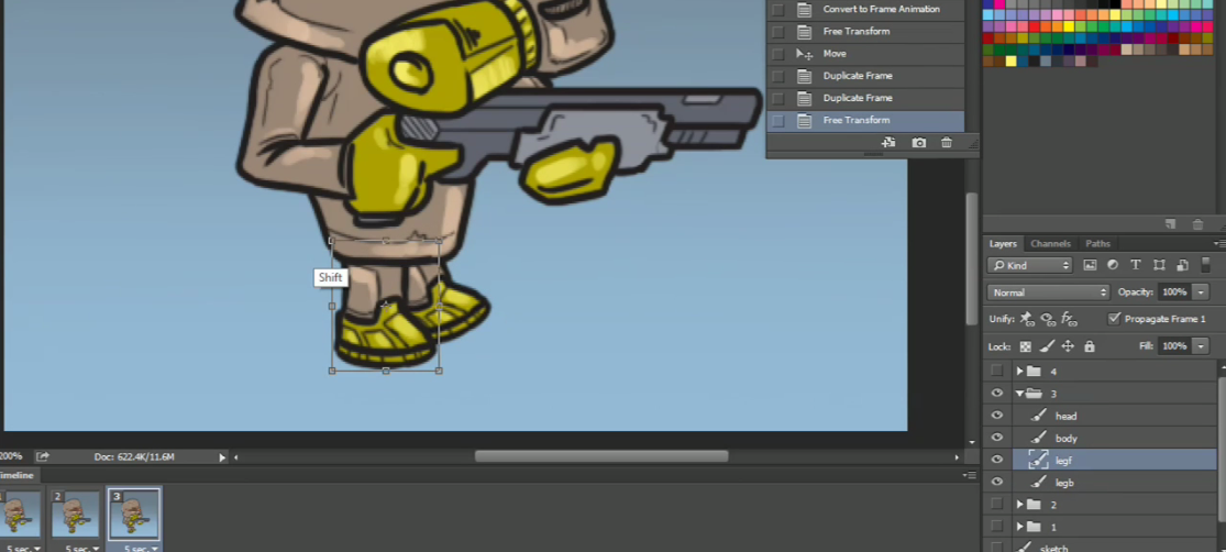Photoshop Frame Animation Tutorial